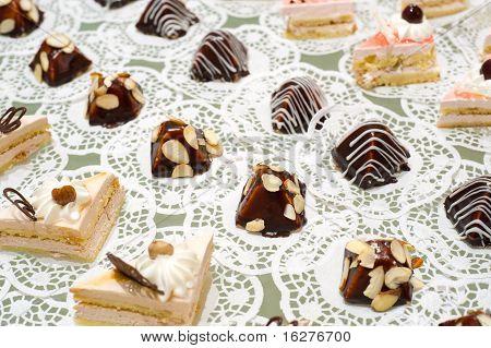 Buffet Table Dessert