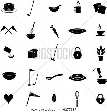 diverse vector symbols set 9