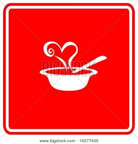 love soup sign