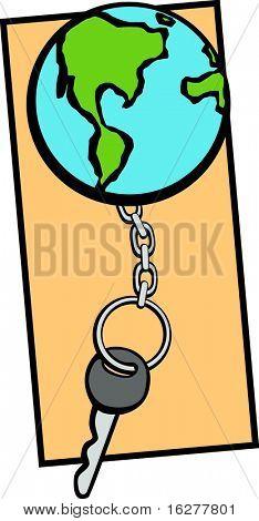 world keychain