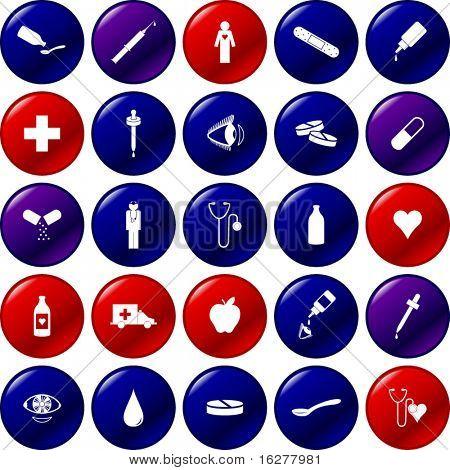 botón médico