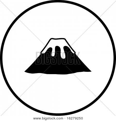 volcano mountain symbol