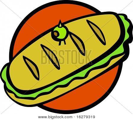 sub style big sandwich