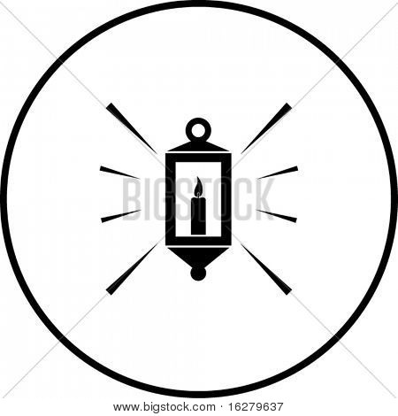 candle lamp symbol