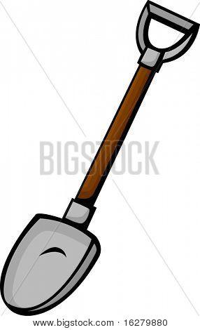 ferramenta de pá de mineração