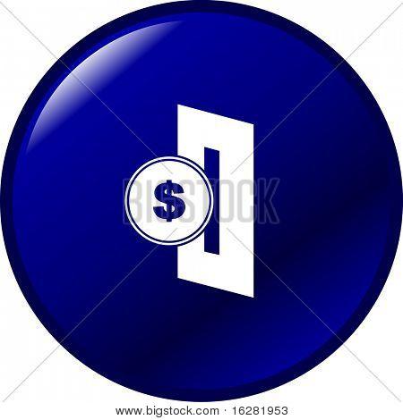 insert coin button