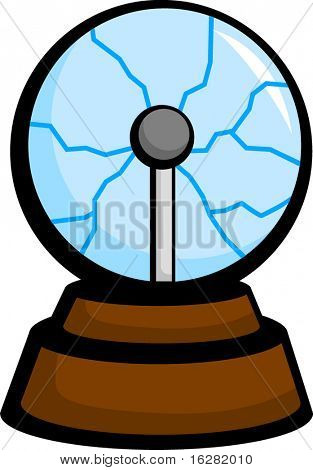 lightning electricity ball