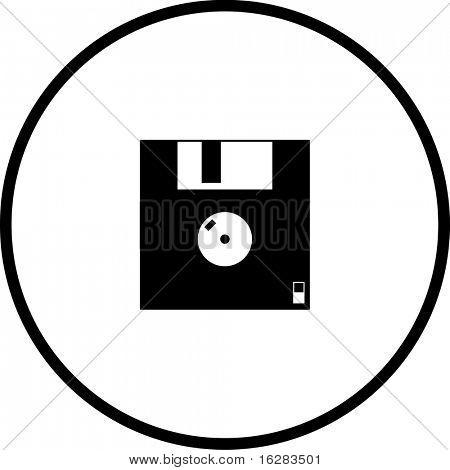 floppy disk diskette symbol