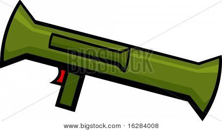 bazooka rocket launcher