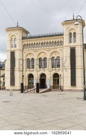Nobel Peace Building in downtown Oslo in Norway