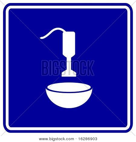 hand blender and mixing bowl