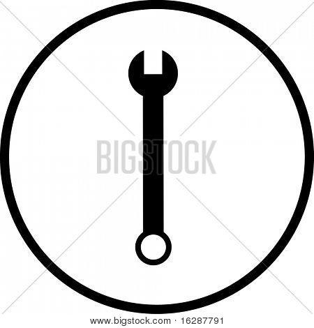 wrench symbol