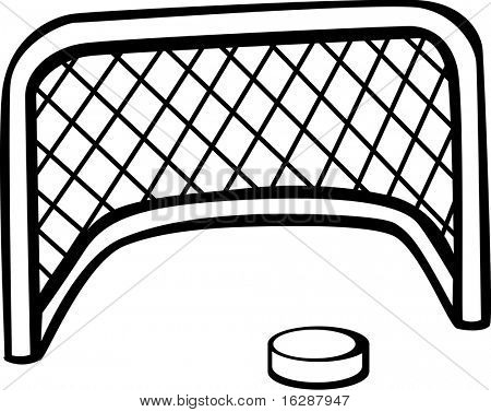 how to draw a hockey puck