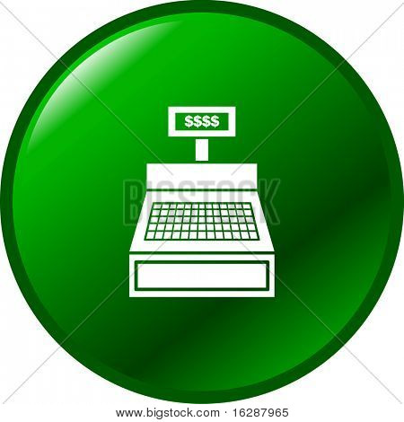 cash register machine button