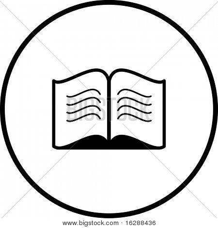 open book symbol