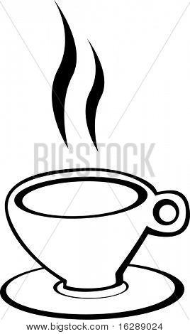 coffee, chocolate or tea cup