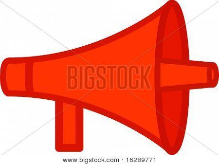 bullhorn or megaphone
