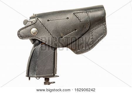 pistol in a