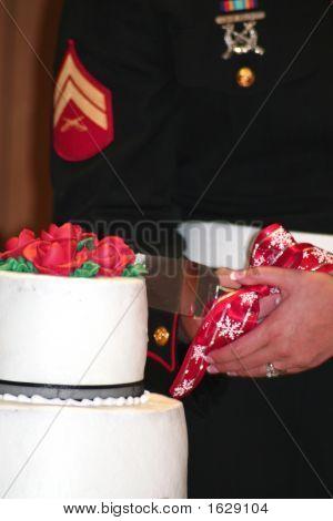 Marine Wedding Cake