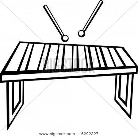 xylophone vibraphone or marimba musical instrument