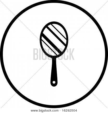 hand mirror symbol