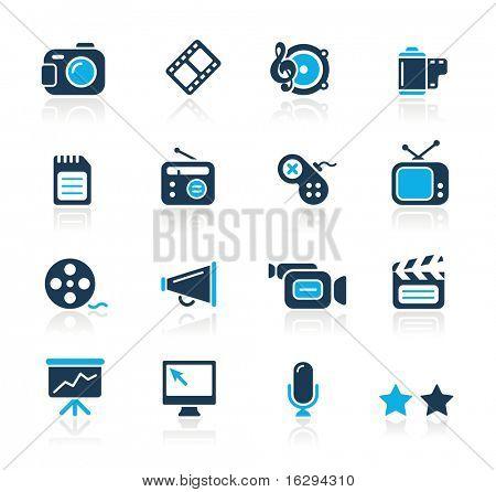 Multimedia / / azul série