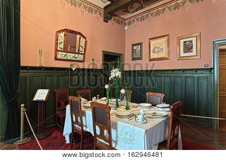 Living Room Of The 19Th Century