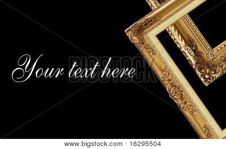 Design with picture frame