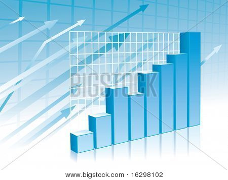 Graph background (blue)