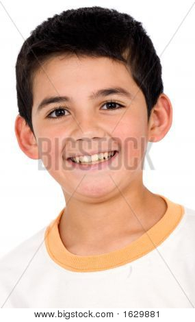 Funny Child Portrait - Smiling