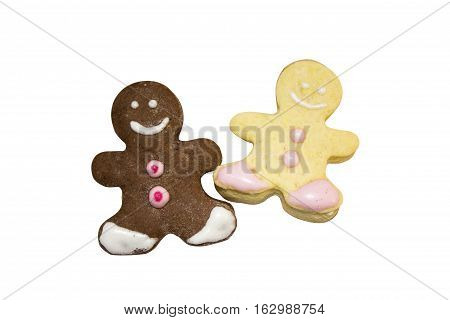 The Gingerbread Man is a fairy tale about a gingerbread man's escape from various pursuers and his eventual demise between the jaws of a fox.