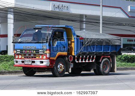 Private Toyota Dyna Dump Truck.
