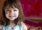 foto of child development  - Adorable young child smiling - JPG