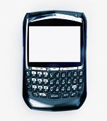 foto of mobile-phone  - Mobile phone pda device - JPG