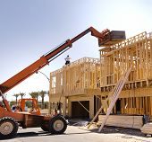 stock photo of 2x4  - New construction - JPG