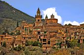 picture of chopin  - a view of valldemossa - JPG