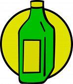 picture of mezcal  - liquor bottle - JPG