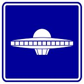 picture of ovni  - alien ship sign - JPG