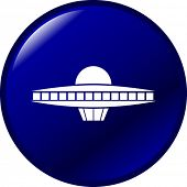 foto of ovni  - ufo ship button - JPG