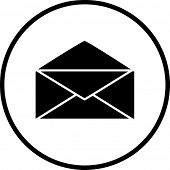 stock photo of telegram  - mail symbol - JPG