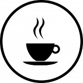 picture of bittersweet  - coffee cup symbol - JPG