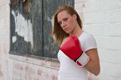 Urban Boxing Girl