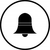 image of idiophone  - bell symbol - JPG