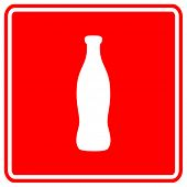 beverage bottle sign