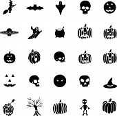 stock photo of ovni  - halloween icon set 1 - JPG