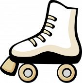 picture of roller-derby  - roller skate - JPG