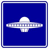 picture of ovni  - ufo space ship sign - JPG