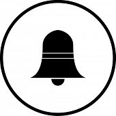 stock photo of idiophone  - bell symbol - JPG