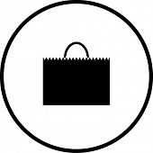 shopping bag symbol