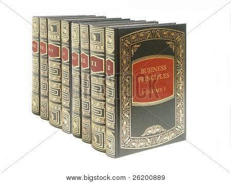 Eight volumes of business principles